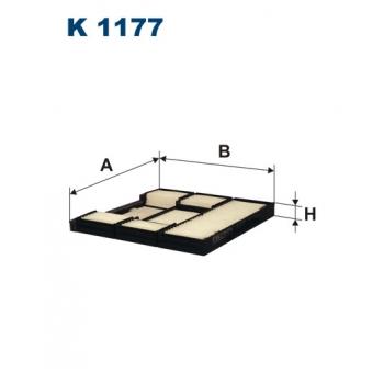Filtron K 1177 - kabinovy filtr