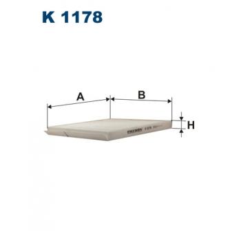 Filtron K 1178 - kabinovy filtr