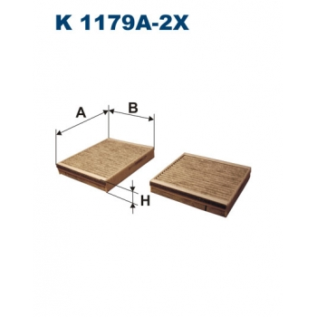 Filtron K 1179A-2X - kabinovy filtr