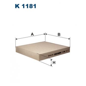 Filtron K 1181 - kabinovy filtr