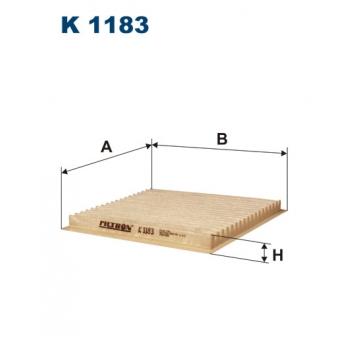 Filtron K 1183 - kabinovy filtr