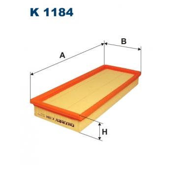 Filtron K 1184 - kabinovy filtr