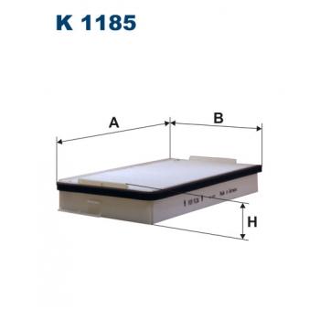 Filtron K 1185 - kabinovy filtr