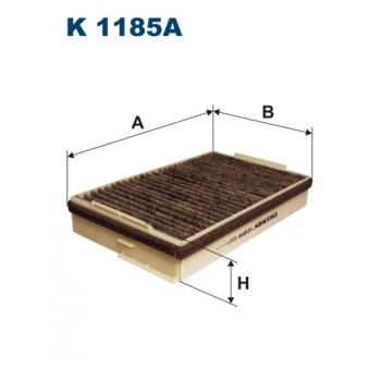 Filtron K 1185A - kabinovy filtr