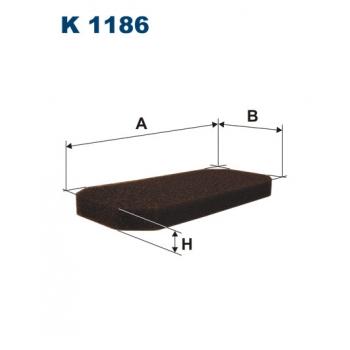 Filtron K 1186 - kabinovy filtr