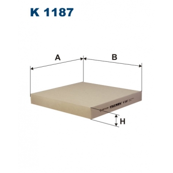 Filtron K 1187 - kabinovy filtr