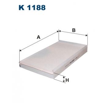 Filtron K 1188 - kabinovy filtr