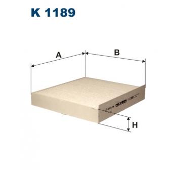 Filtron K 1189 - kabinovy filtr
