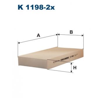 Filtron K 1198-2X - kabinovy filtr