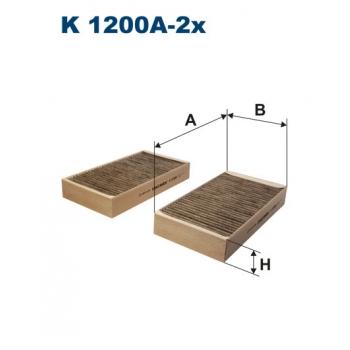Filtron K 1200A-2X - kabinovy filtr