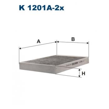 Filtron K 1201A-2X - kabinovy filtr