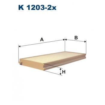 Filtron K 1203-2X - kabinovy filtr