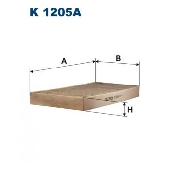 Filtron K 1205A - kabinovy filtr