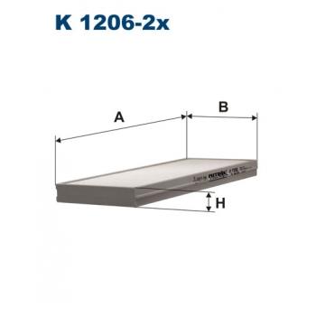 Filtron K 1206-2X - kabinovy filtr