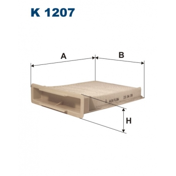 Filtron K 1207 - kabinovy filtr