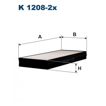 Filtron K 1208-2X - kabinovy filtr