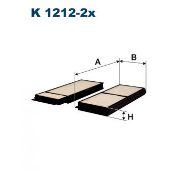 Filtron K 1212-2X - kabinovy filtr