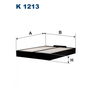 Filtron K 1213 - kabinovy filtr