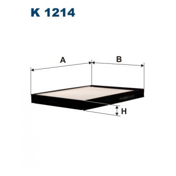 Filtron K 1214 - kabinovy filtr