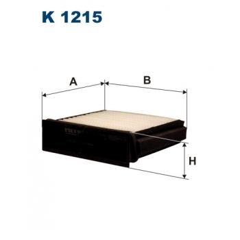 Filtron K 1215 - kabinovy filtr
