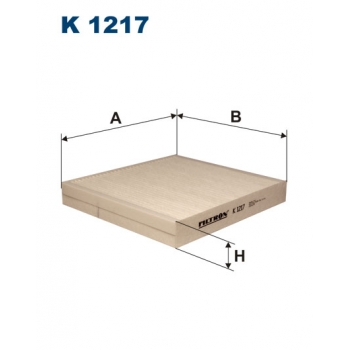 Filtron K 1217 - kabinovy filtr