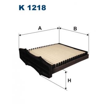 Filtron K 1218 - kabinovy filtr