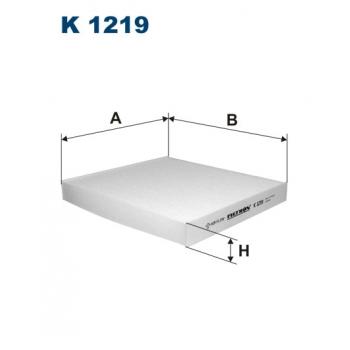 Filtron K 1219 - kabinovy filtr