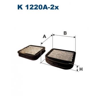 Filtron K 1220A-2X - kabinovy filtr