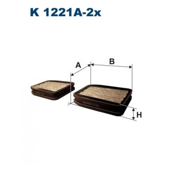 Filtron K 1221A-2X - kabinovy filtr