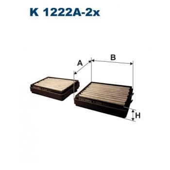 Filtron K 1222A-2X - kabinovy filtr