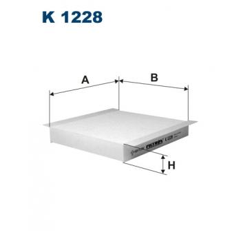 Filtron K 1228 - kabinovy filtr