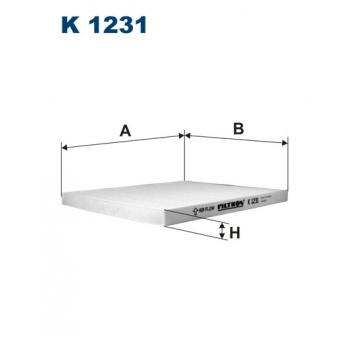 Filtron K 1231 - kabinovy filtr