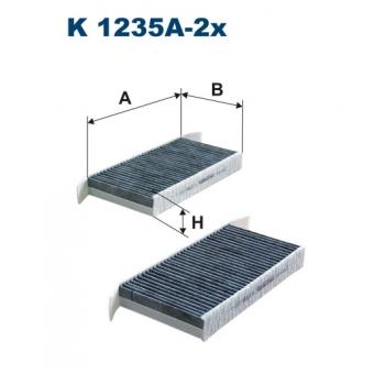 Filtron K 1235A-2X - kabinovy filtr