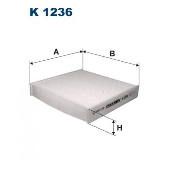 Filtron K 1236 - kabinovy filtr