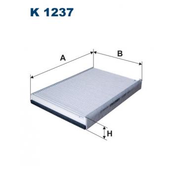 Filtron K 1237 - kabinovy filtr