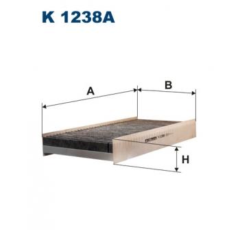 Filtron K 1238A - kabinovy filtr