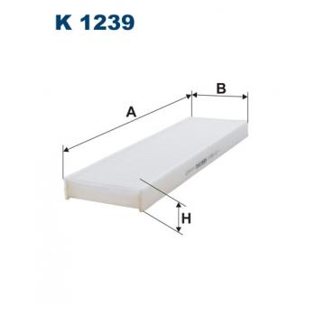 Filtron K 1239 - kabinovy filtr