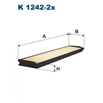 Filtron K 1242-2X - kabinovy filtr