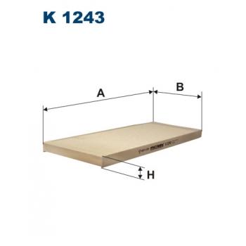 Filtron K 1243 - kabinovy filtr