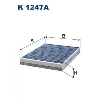 Filtron K 1247A - kabinovy filtr
