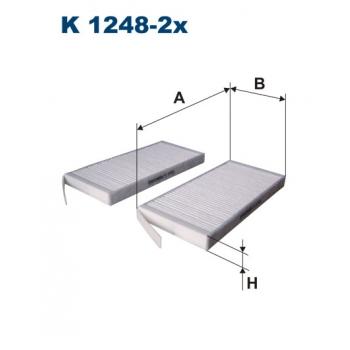 Filtron K 1248-2X - kabinovy filtr