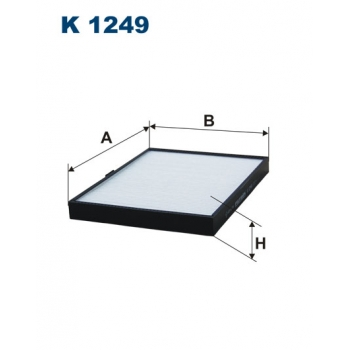 Filtron K 1249 - kabinovy filtr