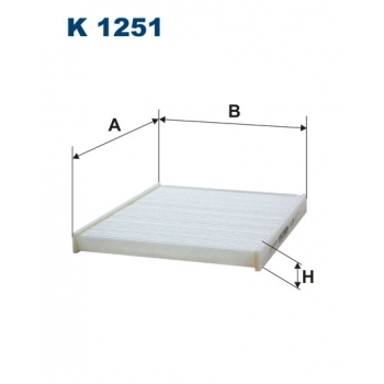 Filtron K 1251 - kabinovy filtr