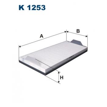 Filtron K 1253 - kabinovy filtr