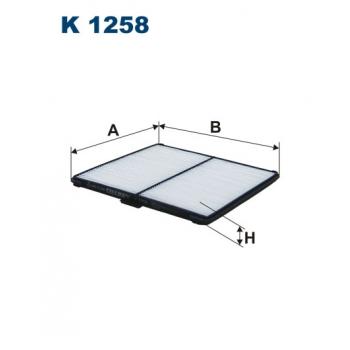 Filtron K 1258 - kabinovy filtr