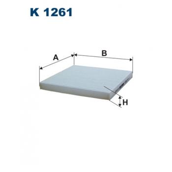 Filtron K 1261 - kabinovy filtr