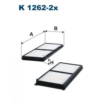 Filtron K 1262-2X - kabinovy filtr