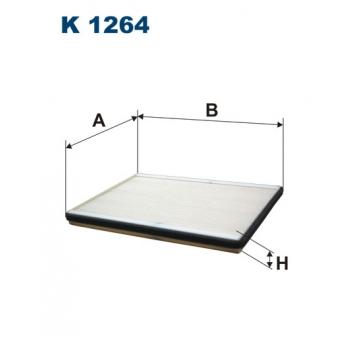 Filtron K 1264 - kabinovy filtr