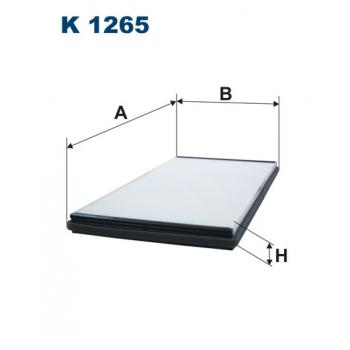 Filtron K 1265 - kabinovy filtr