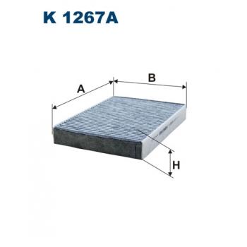Filtron K 1267A - kabinovy filtr
